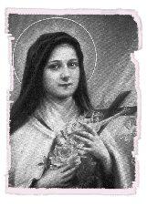 SANTA TEREZINHA DO MENINO JESUS Rosas
